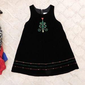 Black velvet Christmas dress, 6